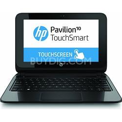 """Pavilion TouchSmart 10.1"""" 10-e010nr Notebook PC - AMD A4-1200 Acc. Processor"""