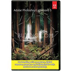 Photoshop Lightroom 5 MAC / PC (bundle package not for resale)