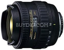 AT-X AF 10-17mm f3.5-4.5 DX Fisheye Lens for Nikon Digital SLR Cameras