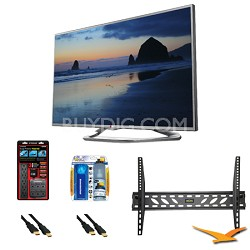 60LN6150 60-Inch 1080p 120Hz LED-LCD HDTV with Smart TV Mount Bundle