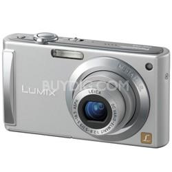 DMC-FS3 (Silver) 8 Megapixel Digital Camera w/ 2.5-inch LCD & 3x Optical Zoom