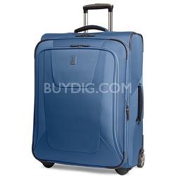 "Maxlite3 25"" Blue Expandable Rollaboard Luggage"