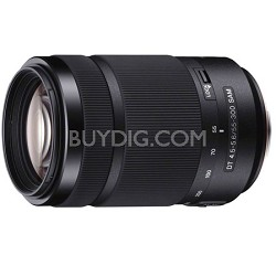 55-300mm DT f/4.5-5.6 SAM Telephoto Zoom Lens - OPEN BOX