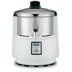 Juicerator 550-Watt Juice Extractor, Quite White and Stainless