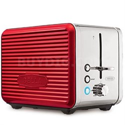 Linea 2-Slice Toaster in Red - 14093