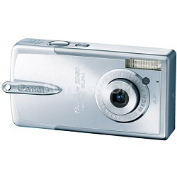 Powershot SD20 Silver Digital ELPH Camera