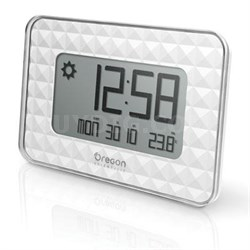 Small Atomic Wall Clock in White - JW208W