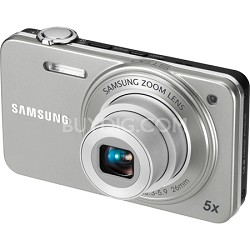 ST90 Compact 14.2 MP Silver Digital Camera