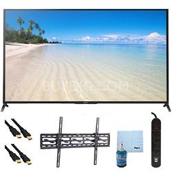 "60"" 1080p 120Hz Smart 3D LED HDTV Plus Tilt Mount Hook-Up Bundle - KDL60W850B"