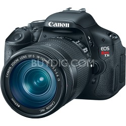 EOS Digital Rebel T3i 18MP SLR Camera 18-135mm IS Kit