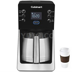 Perfec Temp 12 Cup Coffee Maker - DCC-2900 + Copco To Go Cup Bundle