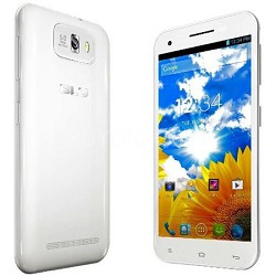 "Studio 5.5 3G 5.5"" Touchsceen Android 4.2 Jelly Bean Cell Phone Unlocked (White)"