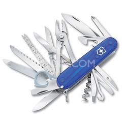 SwissChamp Pocket Knife - Sapphire