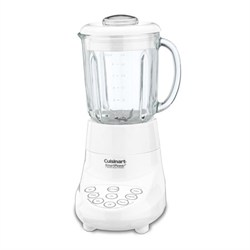 Smart Power 7 Speed Electric Blender, White - Factory Refurbished