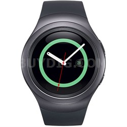 Gear S2 Bluetooth/Wifi Smartwatch w/ HRM (Dark Gray)
