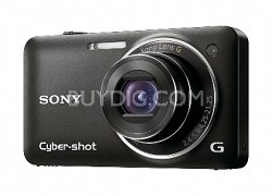 Cyber-shot DSC-WX5 Digital Camera (Black) - REFURBISHED