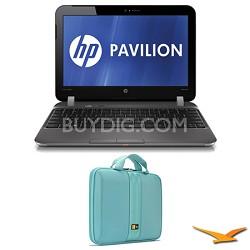"""Pavilion 11.6"""" DM1-4010US Entertainment Notebook and Case Bundle"""