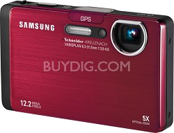 CL65 12MP 3.5 inch Touchscreen LCD Digital Camera (Red)