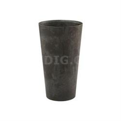 "ArtStone 19.5"" Ella Wall Pot in Black - 35208.01"