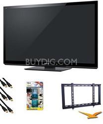 "TC-P60GT30 60"" VIERA 3D FULL HD (1080p) Plasma TV Value Bundle"