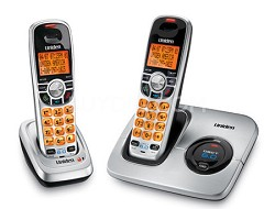 DECT 6.0 Cordless Phone with Caller ID and Two Handsets