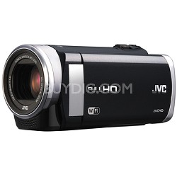 "GZ-EX250BUS - HD Everio Camcorder 3.0"" Touchscreen 40x Zoom f1.8 WiFi (Black)"