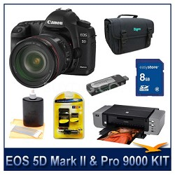 EOS 5D Mark II w/ 24-105mm Lens and Pro 9000 Bundle