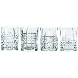 Highland Tumbler Set, 4 Whiskey Glasses (95906)