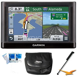 "nuvi 56 Essential Series GPS Navigator 5"" Display Plus Essentials Bundle"