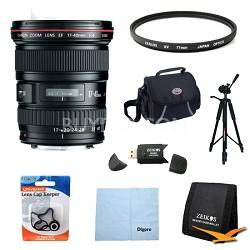 EF 17-40mm F/4 L USM Lens Exclusive Pro Kit