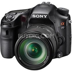 SLTA77VM - a77 Digital SLR 24.3 MP with 18-135mm Zoom Lens