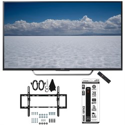 "XBR-49X700D - 49"" Class 4K Ultra HD TV with Tilt Wall Mount Bundle"