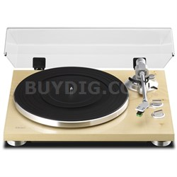TN-300 2-Speed Analog Turntable - Natural