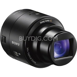 DSC-QX30/B 30x Optical Zoom Lens Style Camera with NFC/Wi-Fi