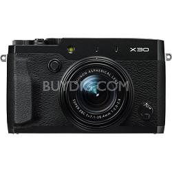 X30 HD 12MP 1080p Black Compact Digital Camera