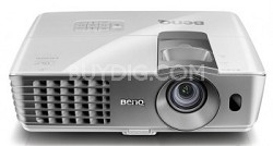 W1080ST 1080p 3D Short Throw DLP Home Theater Projector (White) -OPEN BOX