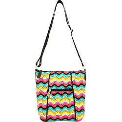 Cassie Quilted Crossbody, Rainbow
