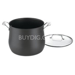 Classic Contour Hard Anodized 12 Qt. Stockpot w/Cover