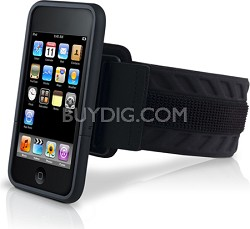 SportShell Convertible for iPod touch 2G Black