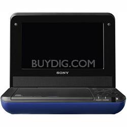 DVPFX750/L - 7 Inch Portable DVD Player (Blue)