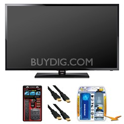 "UN50F5000 50"" 60hz 1080p LED HDTV Surge Protector Bundle"