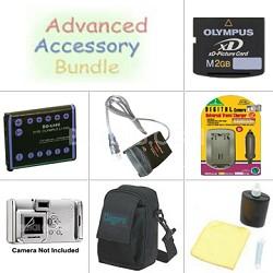 Platinum Accessory Bundle for Olympus Digital Cameras