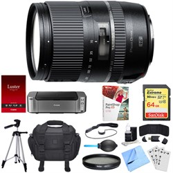 16-300mm f/3.5-6.3 Di II VC PZD MACRO Lens for Nikon Dual Mail in Rebate Bundle