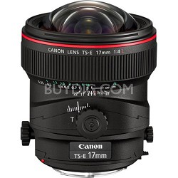 TS-E 17mm f/4L Ultra-Wide Tilt-Shift Manual Focus Lens