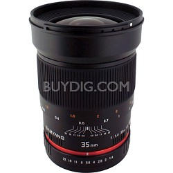 35mm F1.4 Wide-Angle UMC Lens for Samsung NX