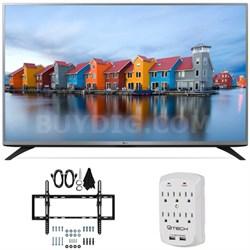 49LF5400 - 49-inch Full HD 1080p LED HDTV Tilt Wall Mount Bundle