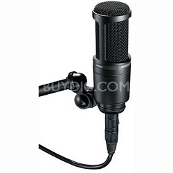 AT2020 - Side Address Cardioid Condenser Studio Microphone