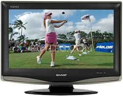 "LC-20D42U - AQUOS 20"" High-definition LCD TV"