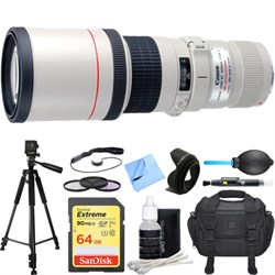 EF 400mm 5.6 L USM Lens Deluxe Accessory Bundle