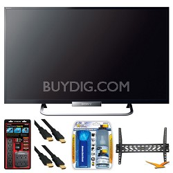 "KDL-32W650A 32"" LED W650A Series Internet HDTV Wall Mount Bundle"